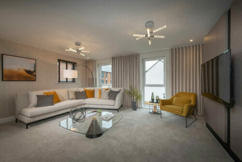 The Beaufort lounge new home for sale Bicester