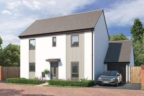 The Gilbert - three bedroom, two storey home