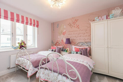 The Fairfax childs twin bedroom