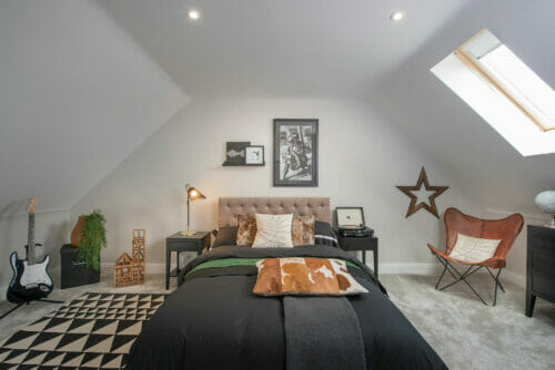 The Rushworth attic bedroom