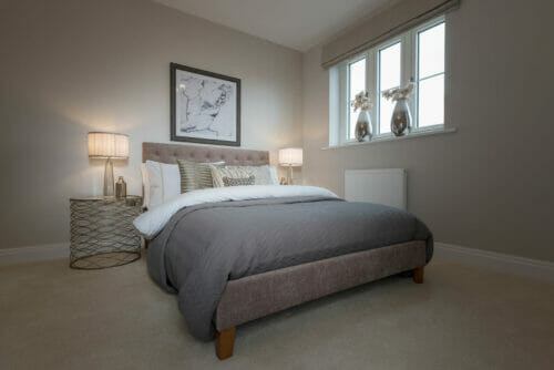 The Warwick bedroom (The Darcy)