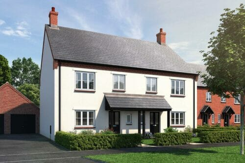 3 bedroom house for sale near Bicester, Oxfordshire - The Bennett