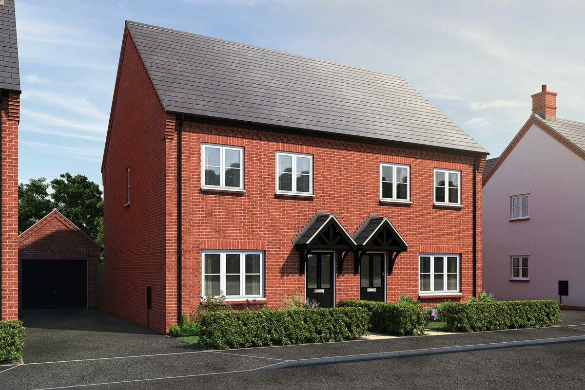 3 bedroom house for sale near Bicester, Oxfordshire - The Hatfield