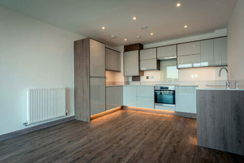 Kitchen of 2 and 3 bed apartments for sale in Bicester