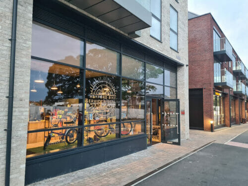 New bike and coffee shop opens at Heyford Park